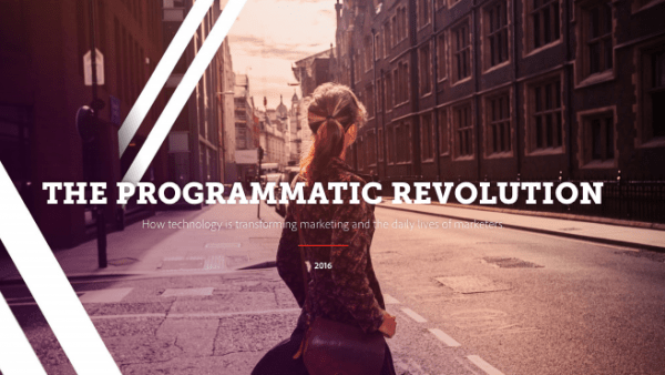 The Programmatic Revolution